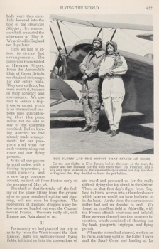 National Geographic 1932 - 6: Flying the World - In a Homemade Airplane the Author and her Husband Enjoy 16,000 Miles of Adventurous Flight Across Europe, Asia and America