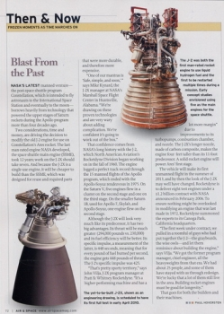 Blast from the Past: About the J-2X rocket engine for NASA's new Constellation manned system - a modified Saturn Engine