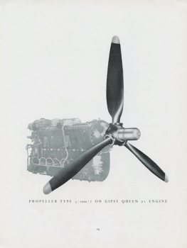 De Havilland Propellers: For Engines up to 500 H.P.