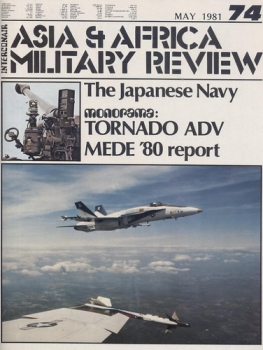 Asia & Africa Military Review - 1981 May: The Japanese Navy - Tornado ADV