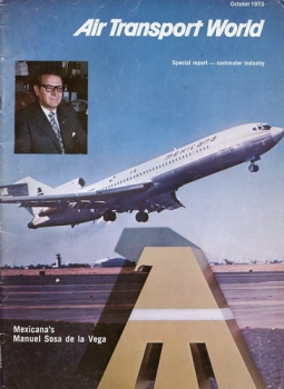 Air Transport World 1973 October: Special report - Commuter Industrie