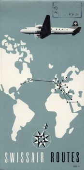 Swissair Routes