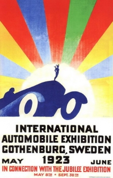 International Automobile Exhibition Gothenburg, Sweden 1923