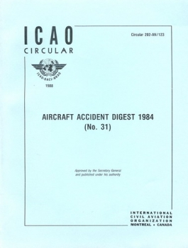 ICAO Aircraft Accident Digest 1984 (No. 31): ICAO Circular 202-AN/123