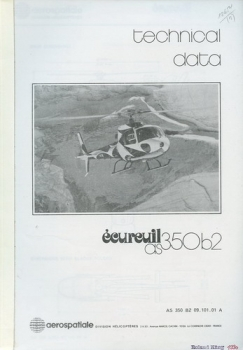 Eurocopter Ecureuil AS 350 B2: Technical Data