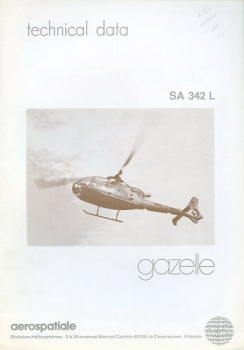 SA 342 L Gazelle: Technical Data