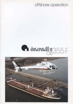 AS 355 F Ecureuil 2: light, twin-engined, six-seat helicopter
