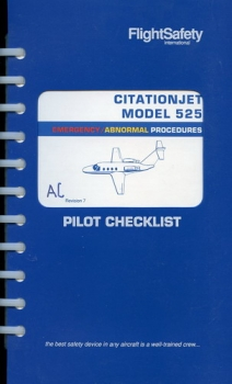 CitationJet Model 525: Emergency / Abnormal Procedures