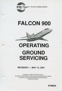 Falcon 900 Ground Service Manual
