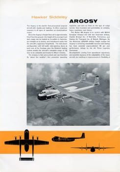 Hawker Siddeley: Aircraft - Missiles - Ancillary Equipment