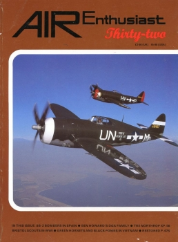 Air Enthusiast - 32: Historic Aviation Journal