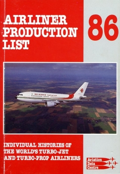 Airliner Production List 1986