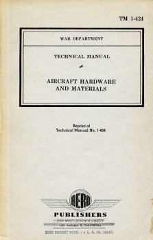Aircraft Hardware and Material: Technical Manual