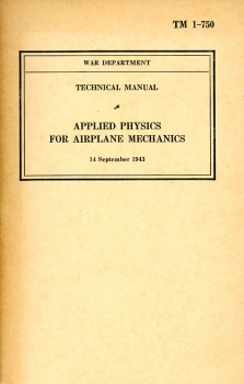 Applied Physics for Airplane Mechanics: Technical Manual