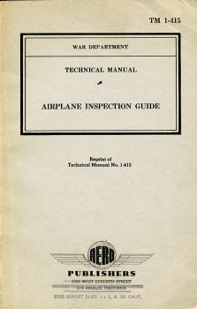 Airplane Inspection Guide: Technical Manual