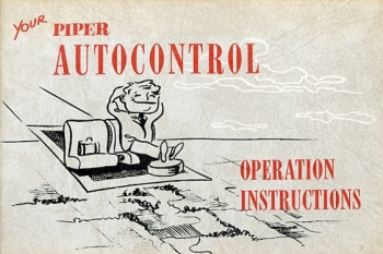 Your Piper Autocontrol: Operation Instructions