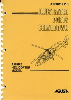 Agusta A109K2 Helicopter Model - Illustrated Parts Breakdown