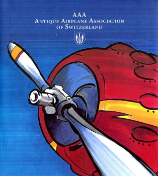 AAA - Antique Airplane Association of Switzerland: 25 Jahre Jubiläum