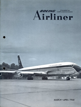 Boeing Airliner - 1968 March - April