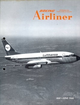 Boeing Airliner - 1968 May - June