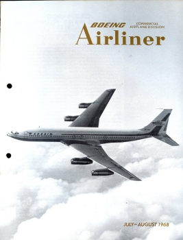 Boeing Airliner - 1968 July - August