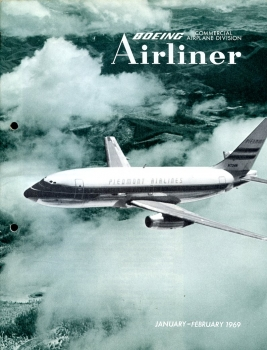 Boeing Airliner - 1969 January - February