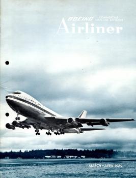 Boeing Airliner - 1969 March - April