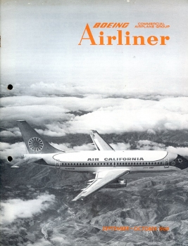 Boeing Airliner - 1969 September - October