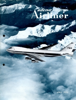 Boeing Airliner - 1970 April