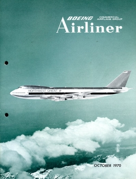 Boeing Airliner - 1970 October