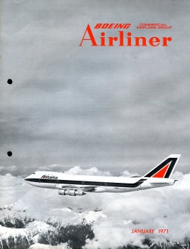 Boeing Airliner - 1971 January