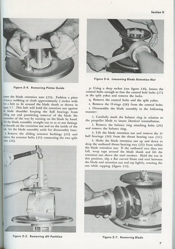 Beech Model 278 Propeller: Operation and Service Instructions - Illustrated Parts Breakdown