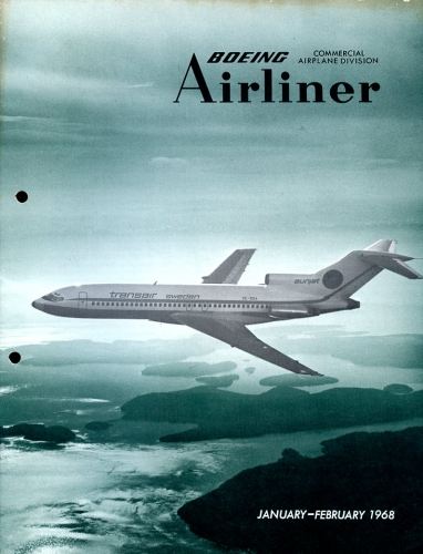 Boeing Airliner - 1968 January - February
