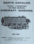 Avco Lycoming IO-720 Series Aircraft Engines: Parts Catalog