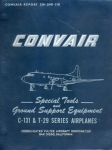 Convair - Special Tools And Ground Support Equipment C-131 & T-29 Series Airplanes