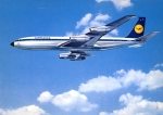 Lufthansa Boeing 707 Intercontinental Jet