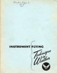 Instrument Flying: Technique in Weather