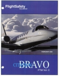 Cessna Citation Bravo Pilot Training Manual: Volume I and Volume II