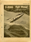 F-104G Flight Manual: Operating Instructions for LCC Serials 2001 Through 2097