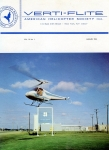 Verti-Flite - 1966 (hardcover): The magazine of the American Helicopter Society